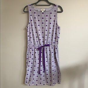LOFT Knit Print Dress